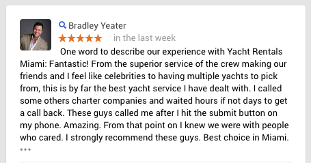Miami Yacht Review